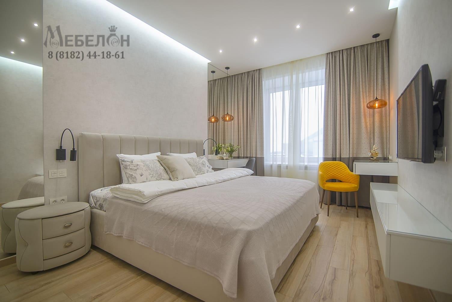 Мебель для спальни на заказ в Архангельске