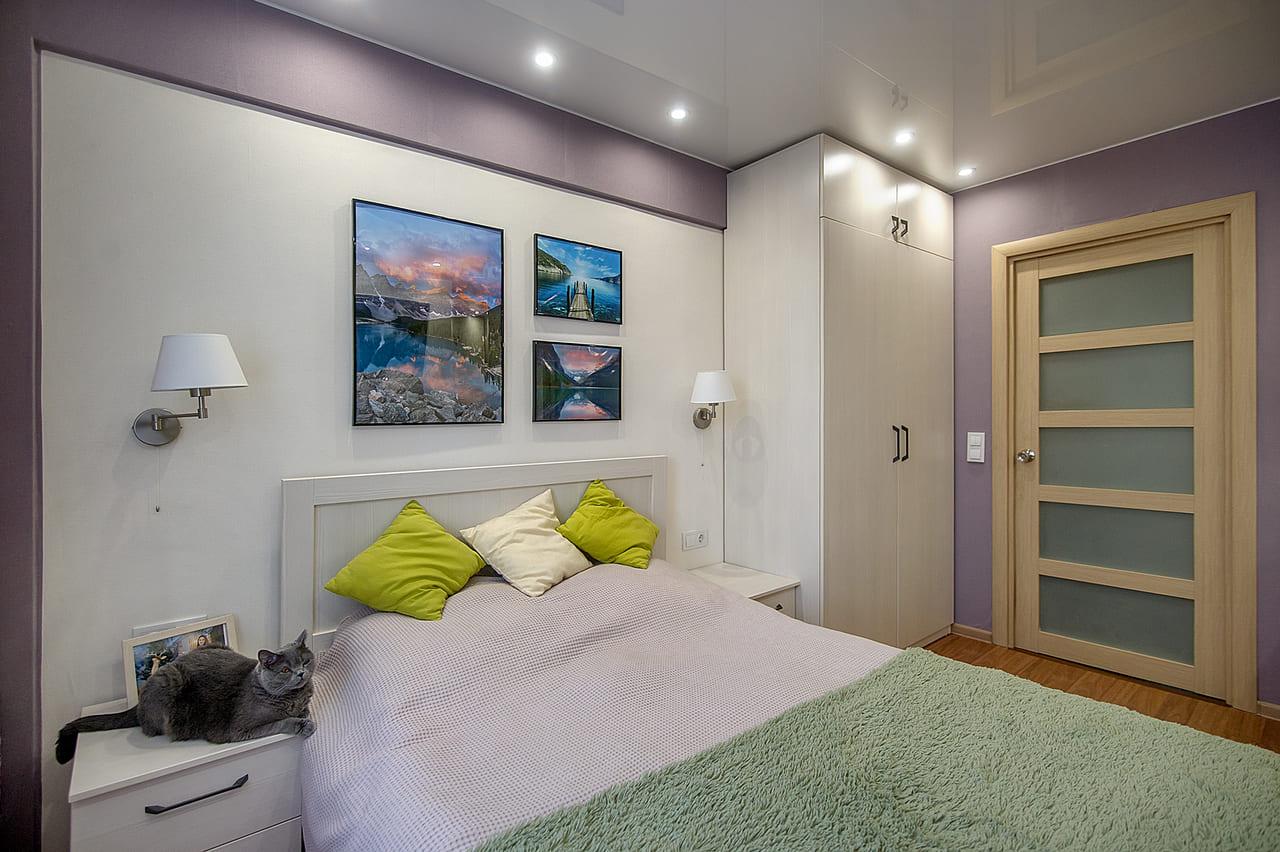 Cпальня 3-х комнатной квартиры ульяновской серии