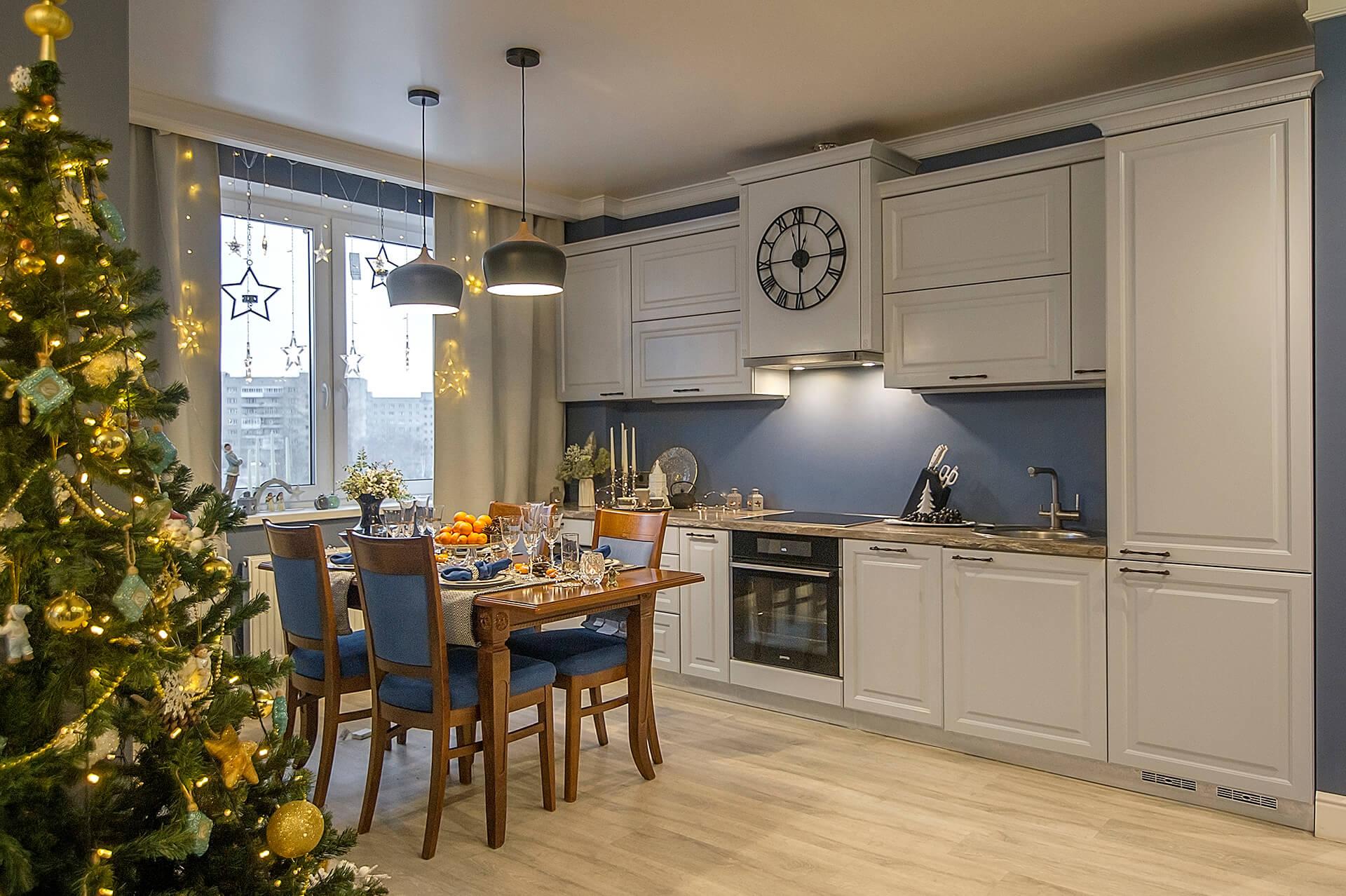Кухня с ноткой аристократизма