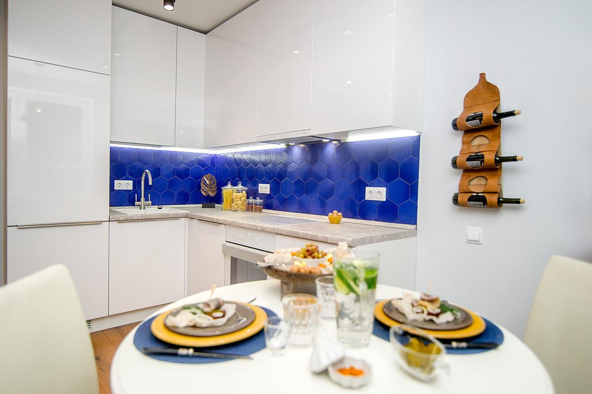 Кухня на заказ с дизайн проектом в Архангельске
